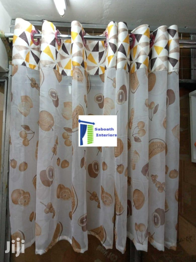 Modern Kitchen Curtains In Nairobi Central Home Accessories Sabaoth Interiors Jiji Co Ke