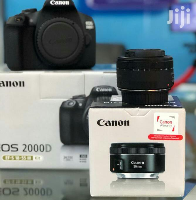 Canon EOS 200D Digital SLR Camera With EF-S 18 – 55 Mm Lens