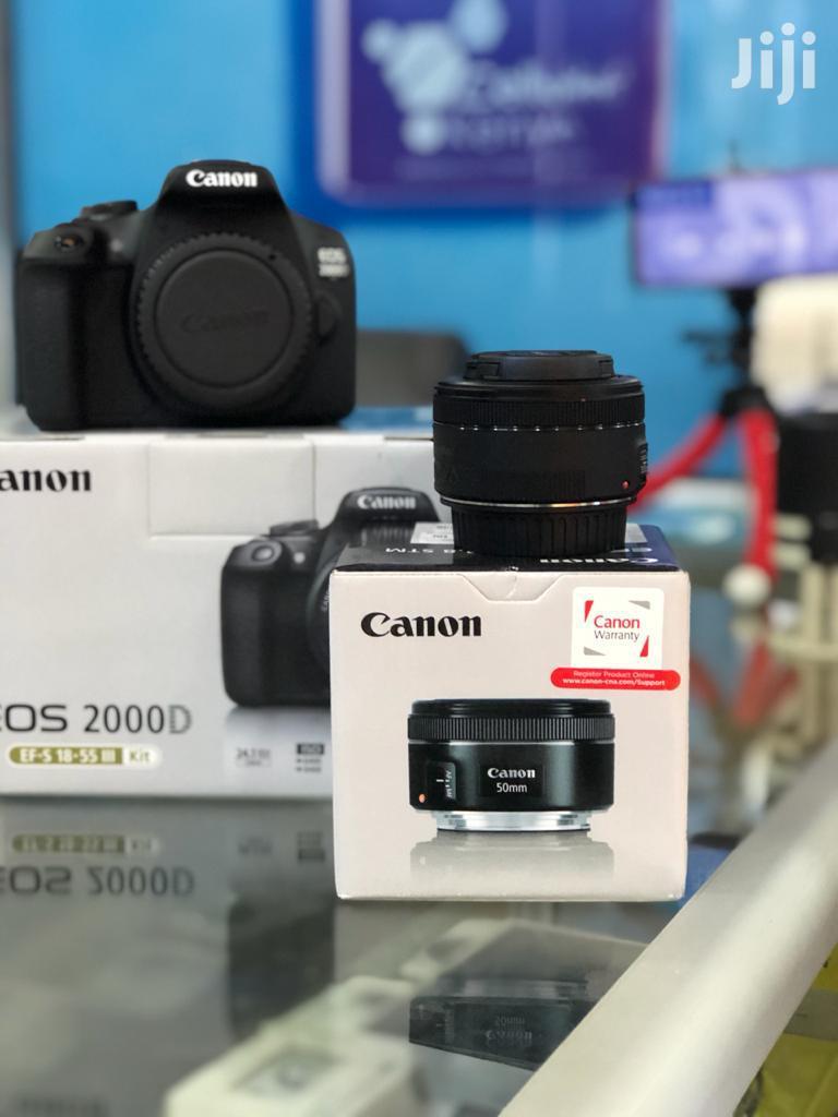 Canon EOS 200D Digital SLR Camera With EF-S 18 – 55 Mm Lens | Photo & Video Cameras for sale in Nairobi Central, Nairobi, Kenya