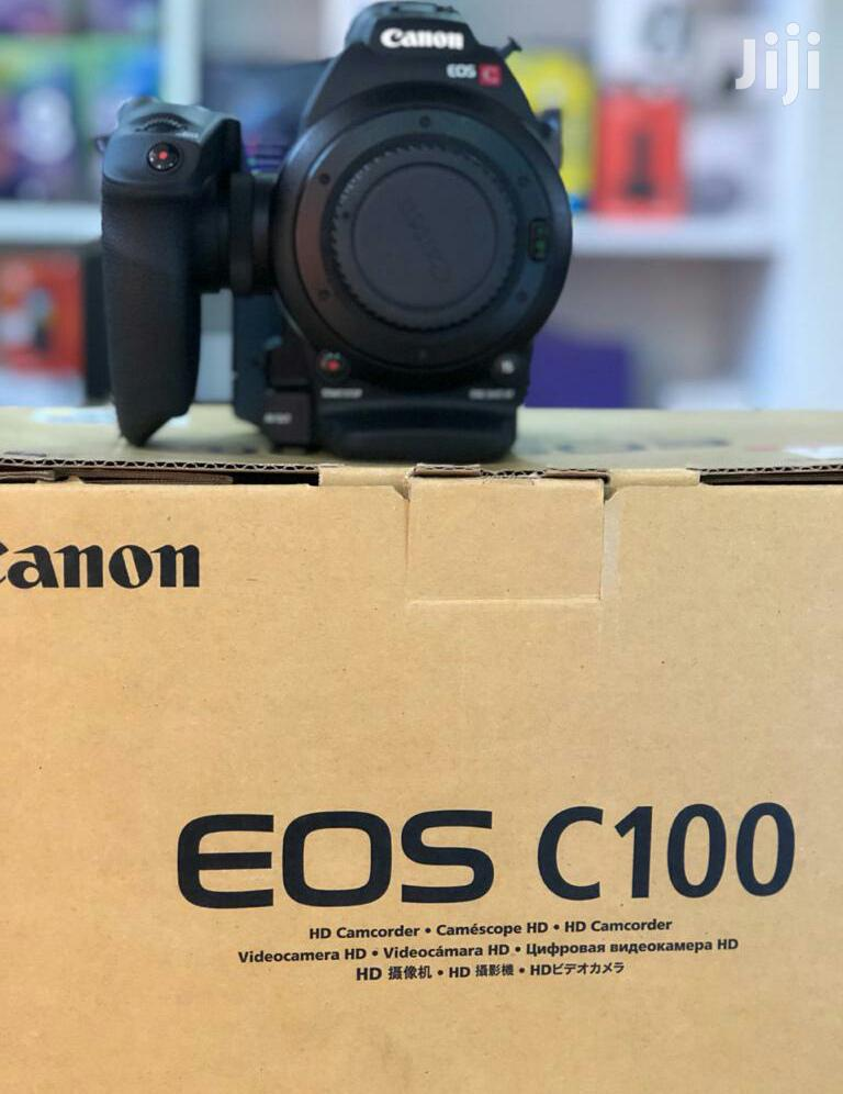 Canon EOS C100 Mark II Cinema Camcorder Body Only