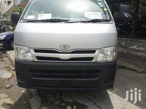 Toyota HiAce 2012 Silver | Buses & Microbuses for sale in Nyali, Ziwa la Ngombe