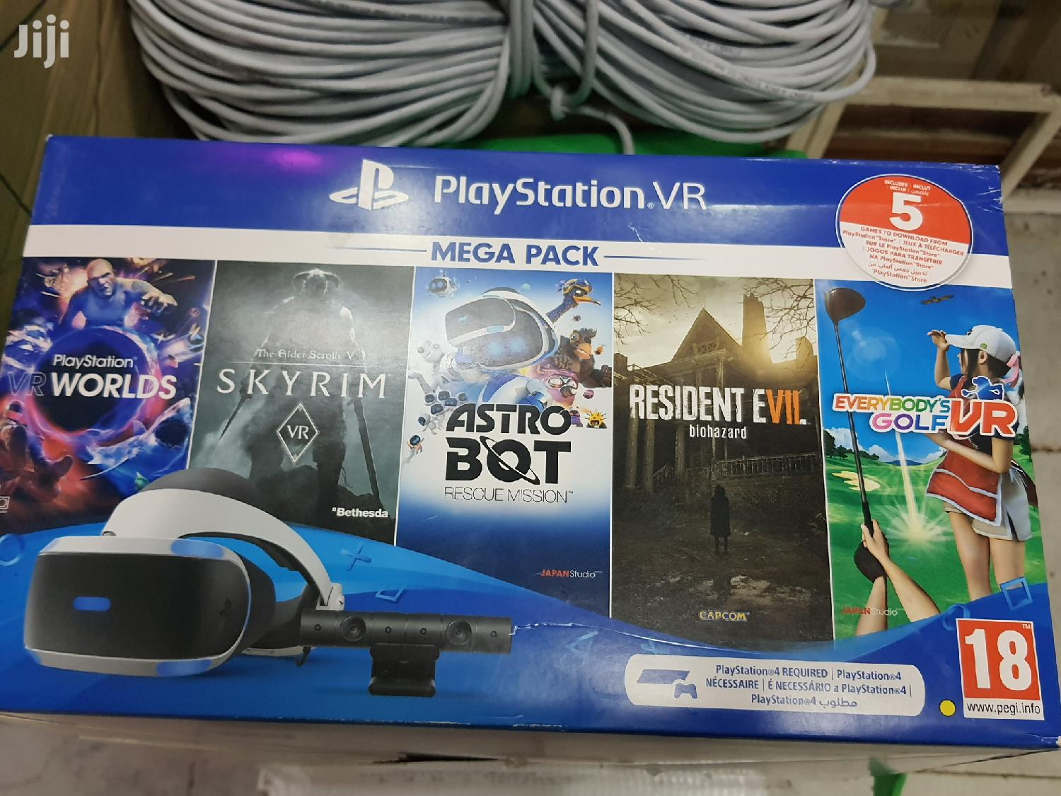 Sony VR Virtual Reality PS4 VR Mega Pack | Video Game Consoles for sale in Nairobi Central, Nairobi, Kenya