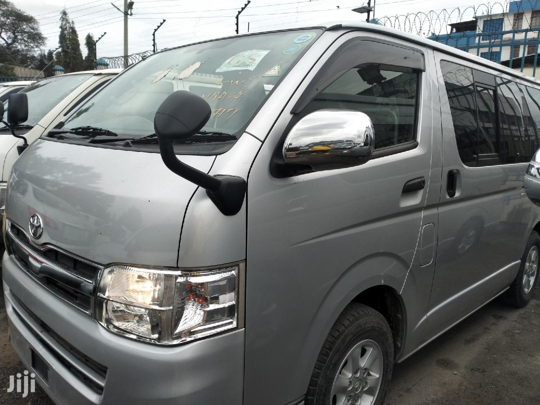 Toyota Hiace 2014 Silver | Buses & Microbuses for sale in Tudor, Mombasa, Kenya