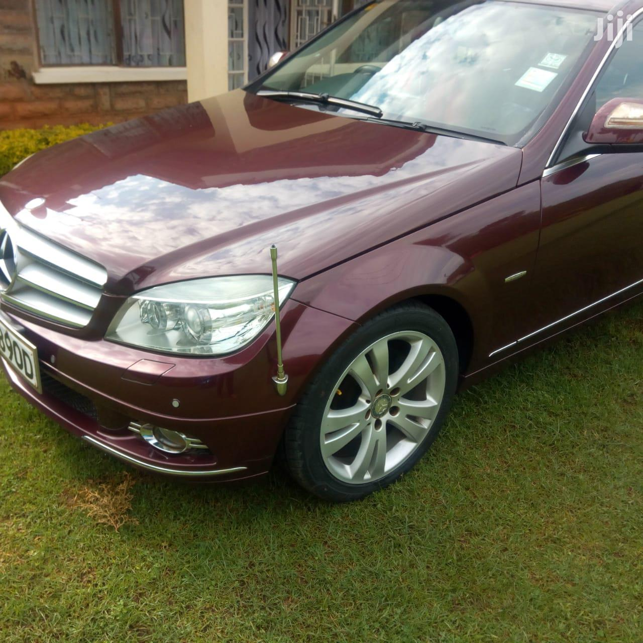 Archive: Mercedes-Benz C200 2007 Red