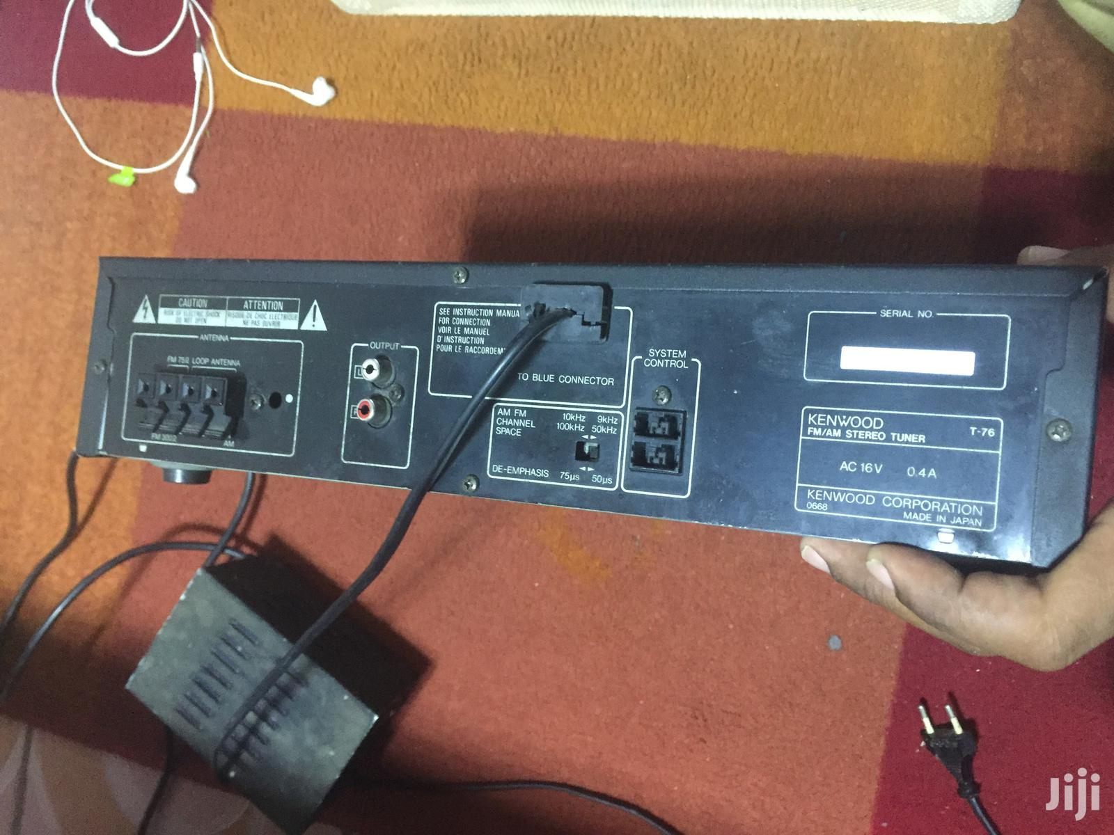 Kenwood FM/AM Stereo Synthesizer Tuner T-76   Musical Instruments & Gear for sale in Nairobi Central, Nairobi, Kenya