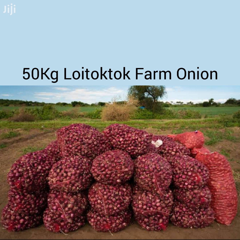 50kg Loitoktok Farm Onions