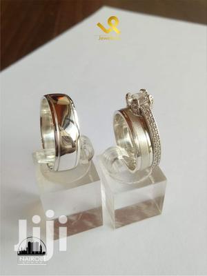 Custom Made Bride N Groom Silver Wedding Bands Rings   Wedding Wear & Accessories for sale in Nairobi, Nairobi Central