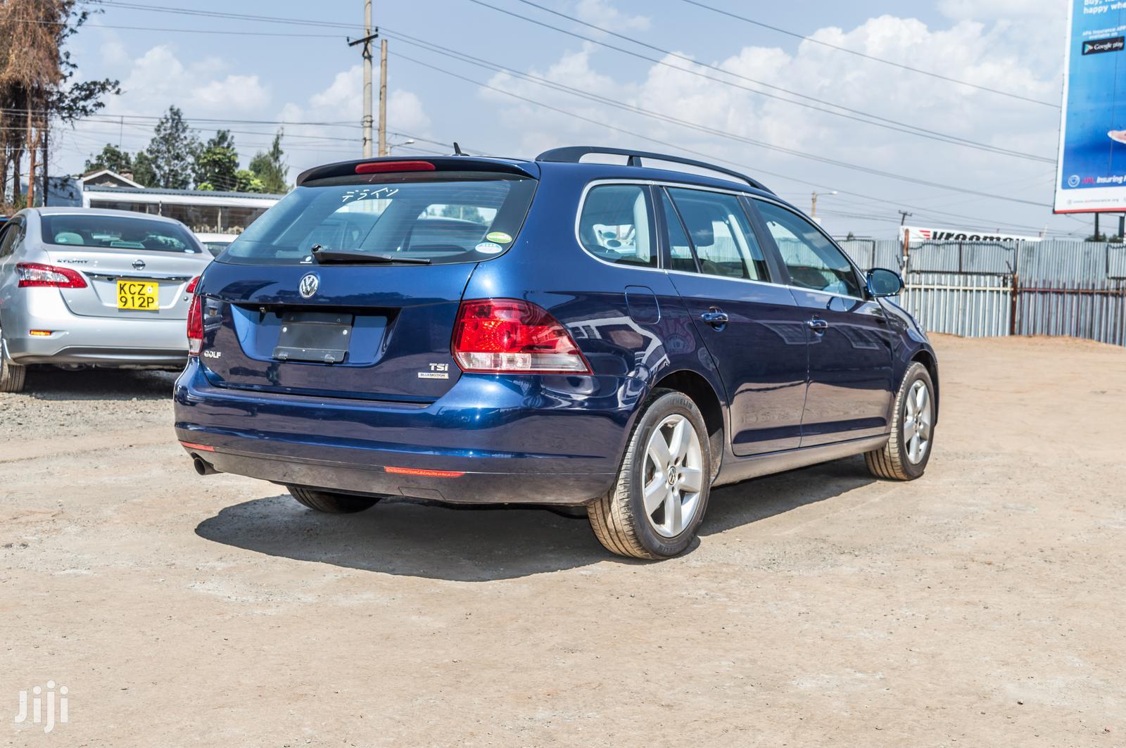 Volkswagen Golf Alltrack 2013 Blue   Cars for sale in Township E, Kiambu, Kenya