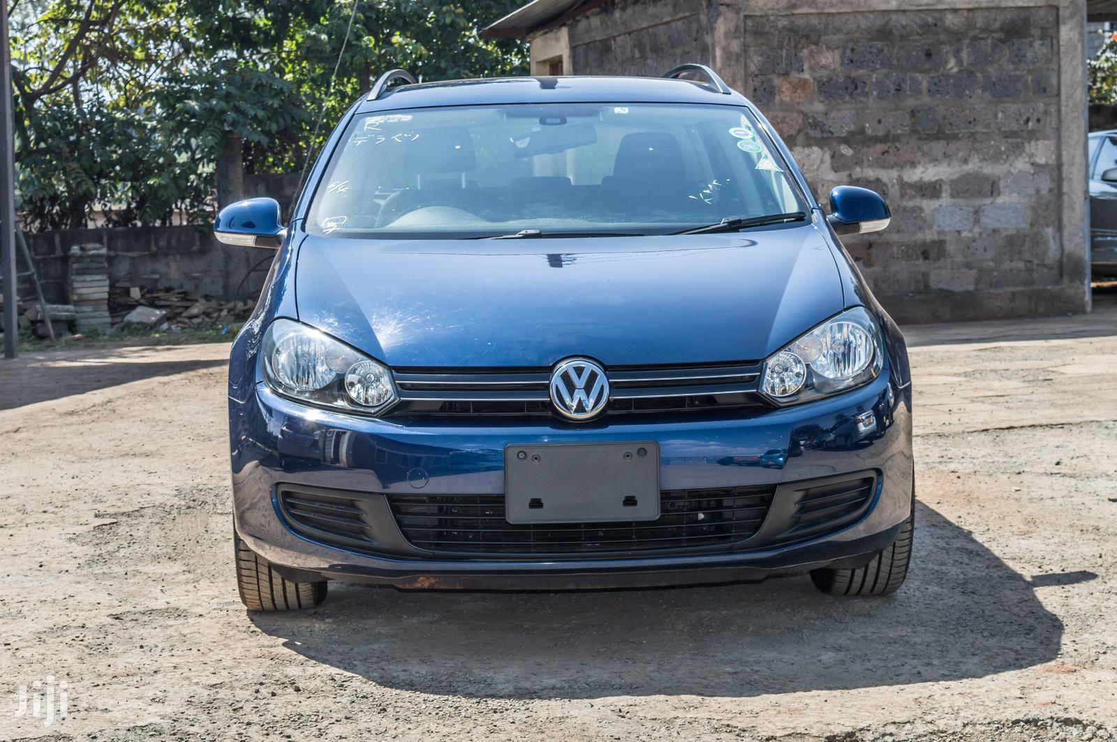 Volkswagen Golf Alltrack 2013 Blue