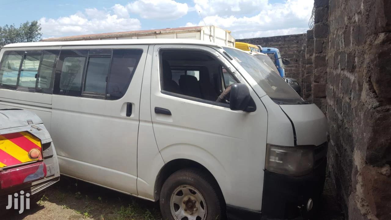Archive: Toyota Hiace 7L ( Box) Auto DIESEL 2011 White