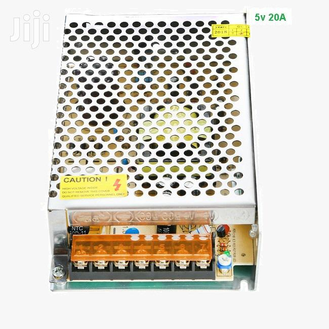 Switching Power Supply 5V (20A) For CCTV & LED Signs