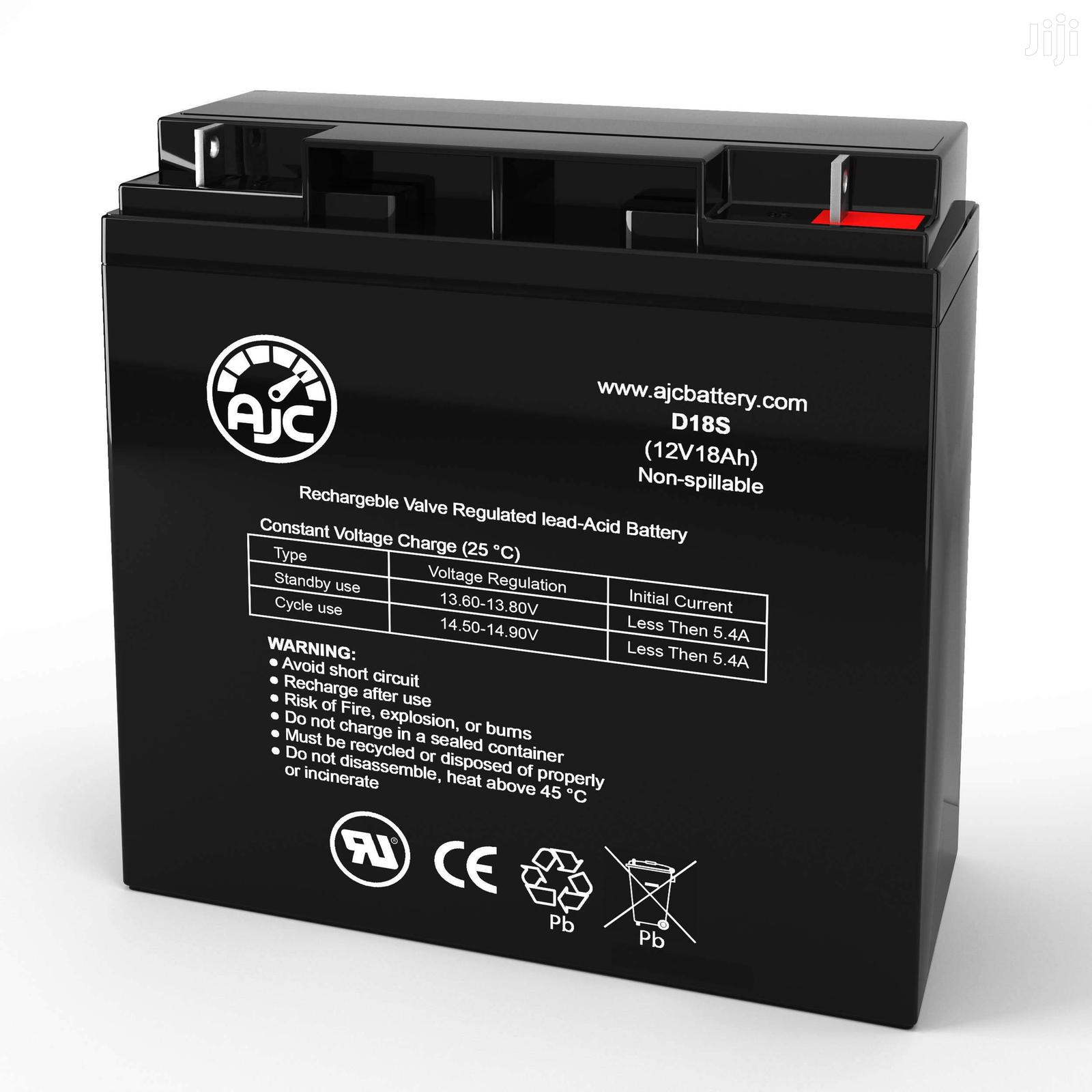 12V 18AH UPS Rechargeable Replacement Battery
