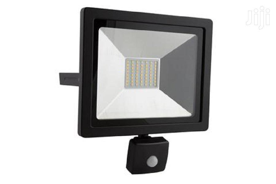 Floodlight With Motion Sensor