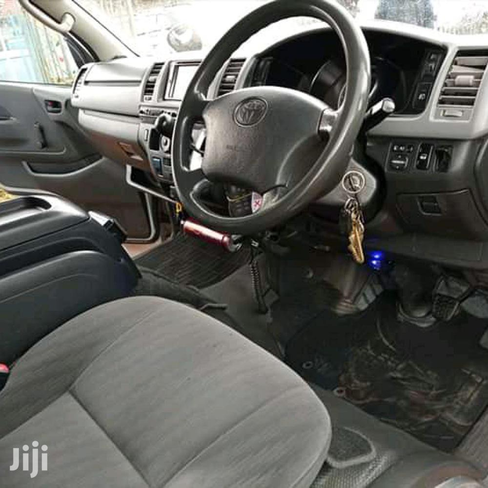 Toyota Hiace 2008 Silver | Buses & Microbuses for sale in Nairobi Central, Nairobi, Kenya