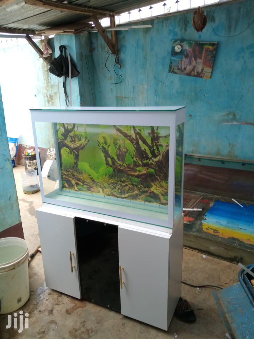 Classic Wooden Tv-stand Home FISH AQUARIUM - Fish Tank Pond