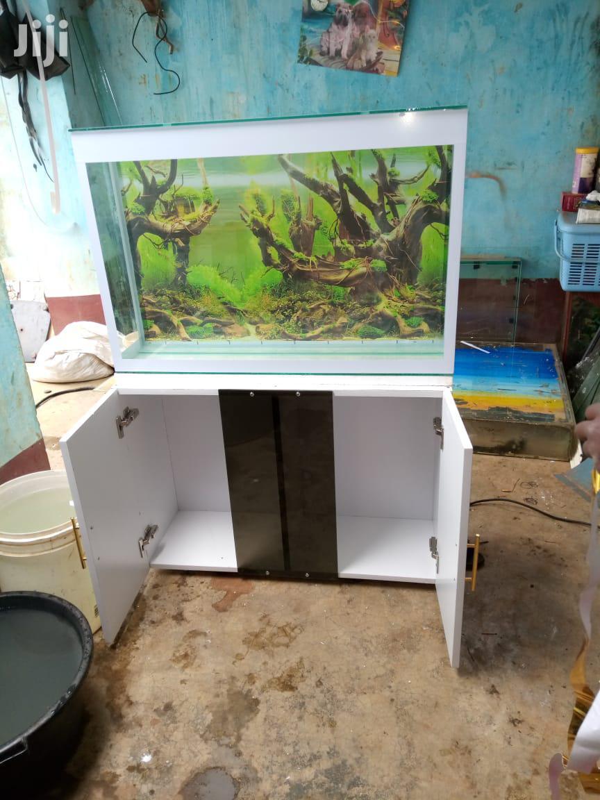 Stronger Glass Wooden-tv-stand FISH AQUARIUM Fish Tank Pond
