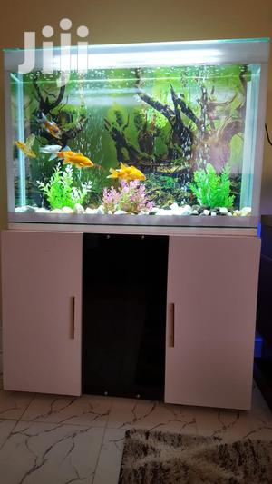 Stylish Wooden Tv-stand FISH AQUARIUM - Fish Tank Pond   Fish for sale in Kiambu, Thika