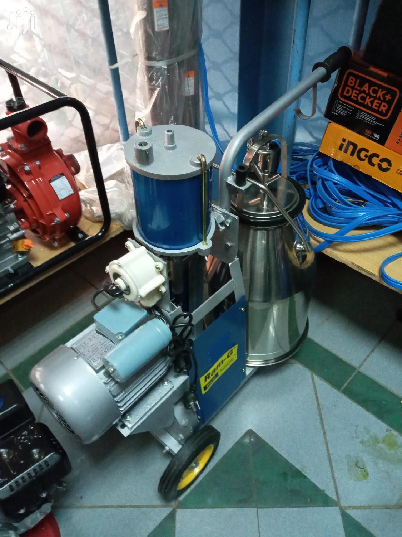 Archive: Single Bucket Milking Machine.