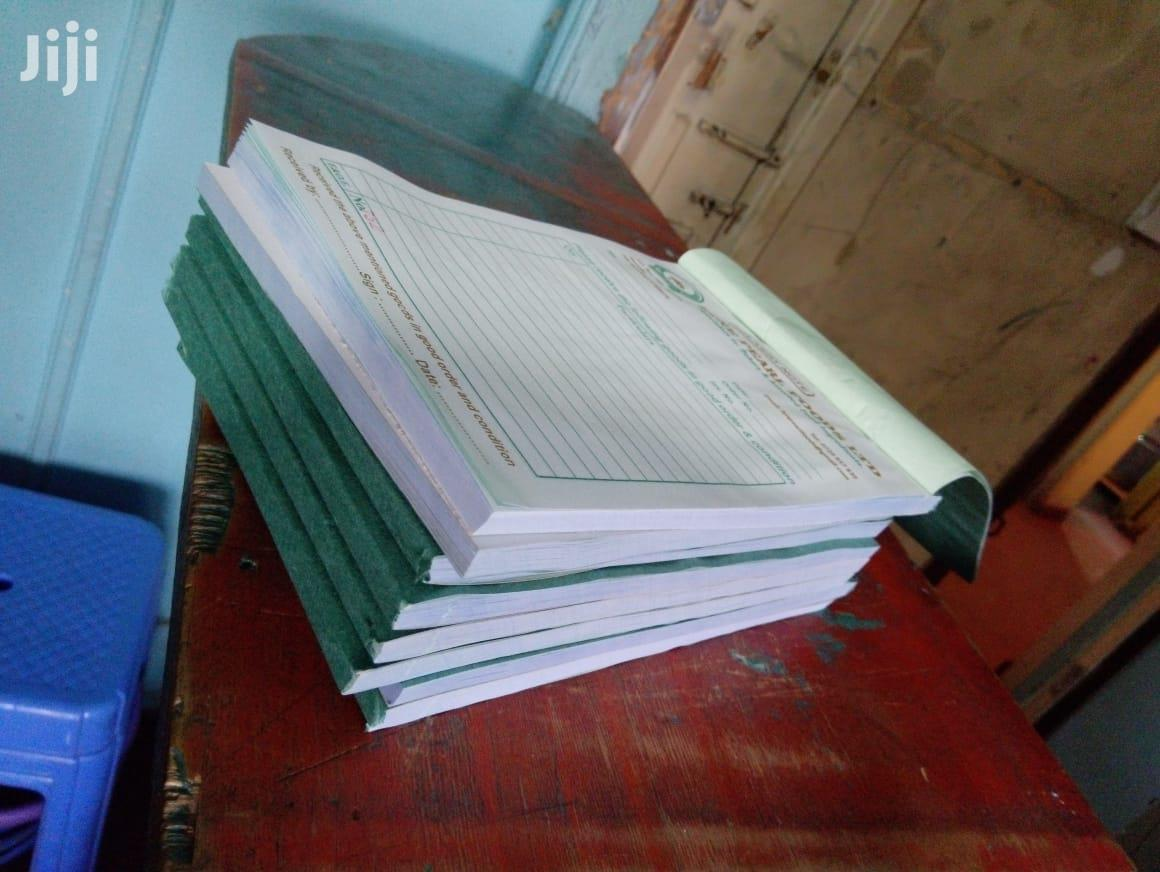Receipt Books,Invoice Books,Delivery Books,Cash Sale Books | Printing Services for sale in Zimmerman, Nairobi, Kenya