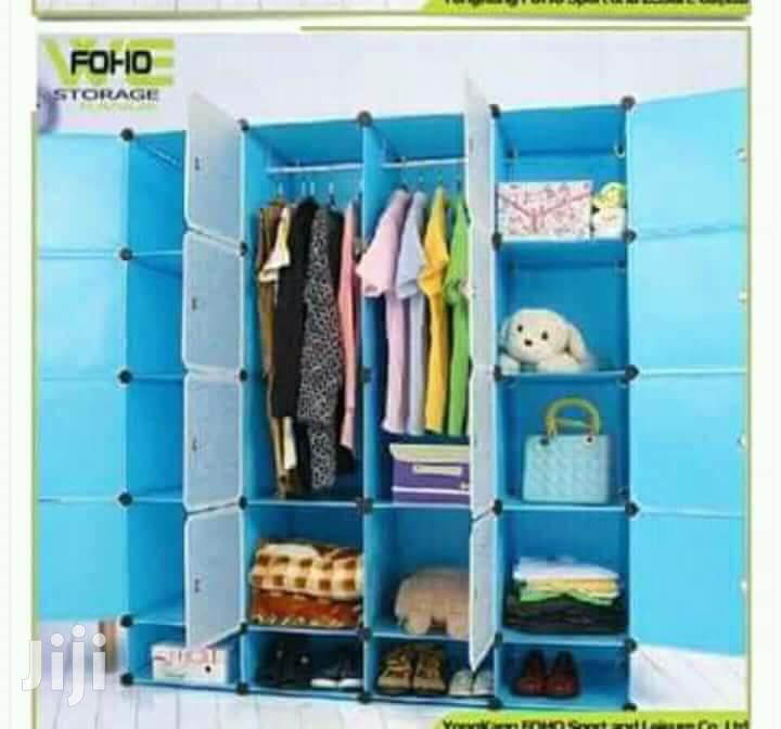 Modern Design Durable Plastic Wardrobe Available