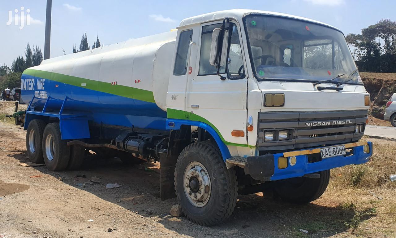 Archive: Water Browser Tanker Nissan Diesel 20000 Litres