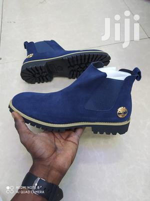 Timberland Mens Suede Leather Boots -Blue | Shoes for sale in Nairobi, Nairobi Central