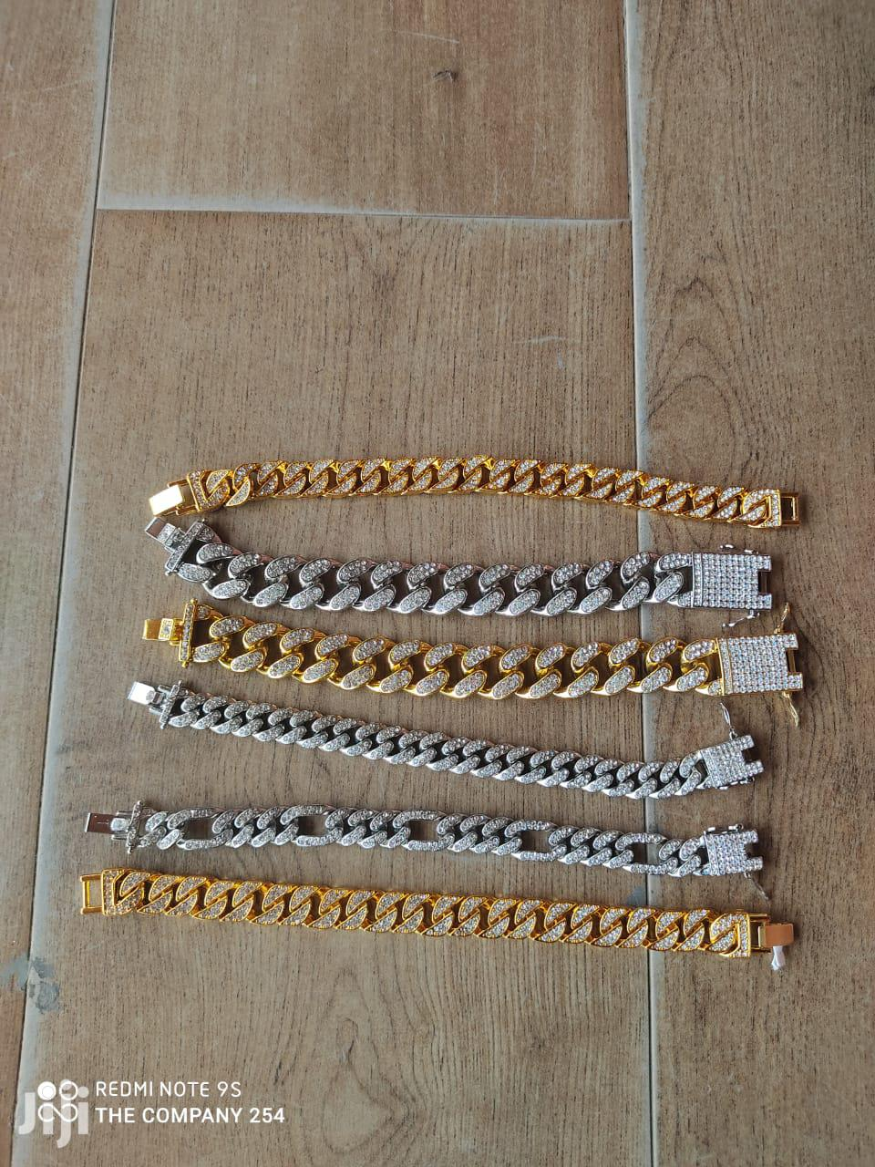 Iced Cuban Link Bracelets   Jewelry for sale in Nairobi Central, Nairobi, Kenya