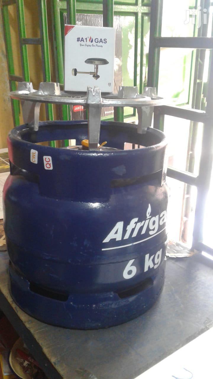 Afrigas 6kg (Meko Grill + Gas Burner + Gas + Gas Cylinder) | Kitchen Appliances for sale in Kariobangi South, Nairobi, Kenya