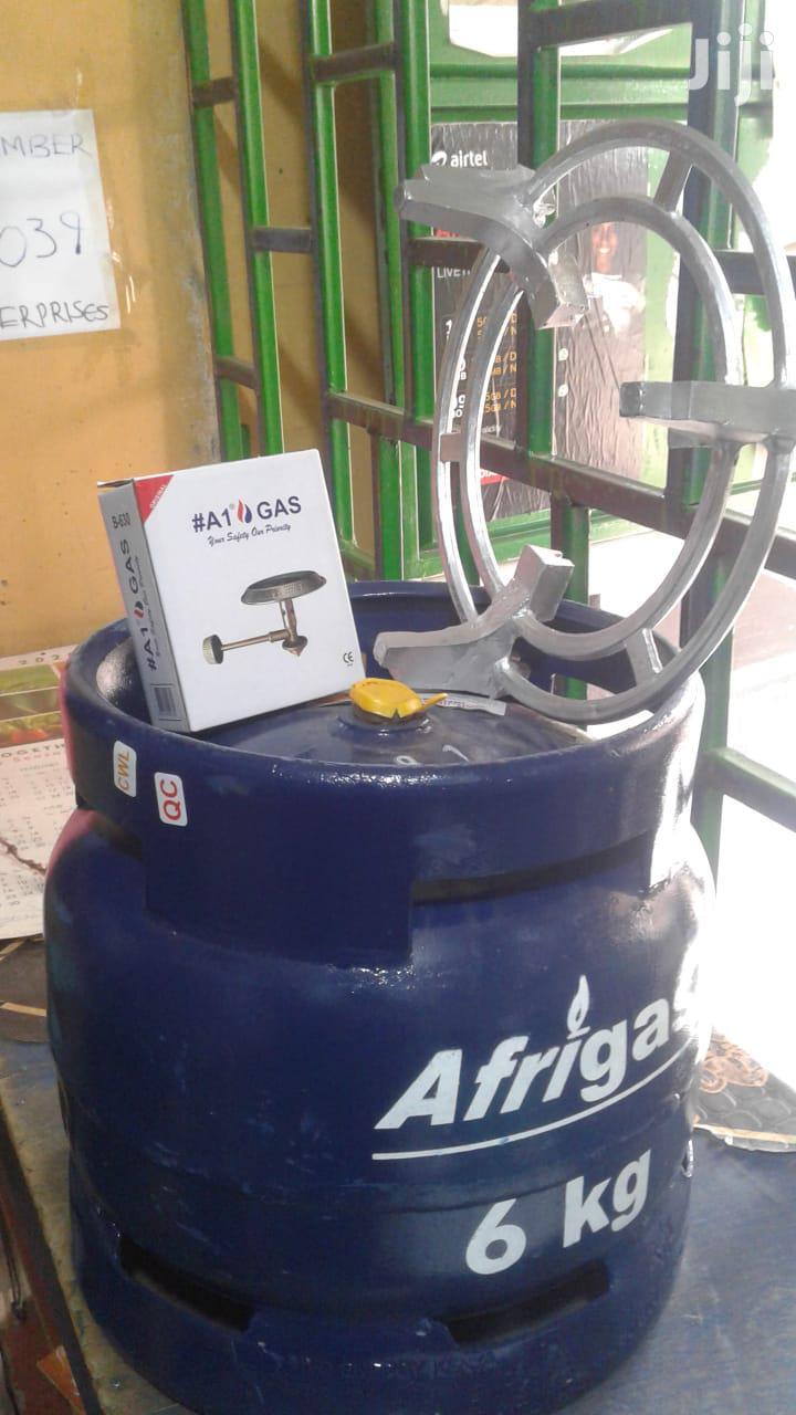 Afrigas 6kg (Meko Grill + Gas Burner + Gas + Gas Cylinder)
