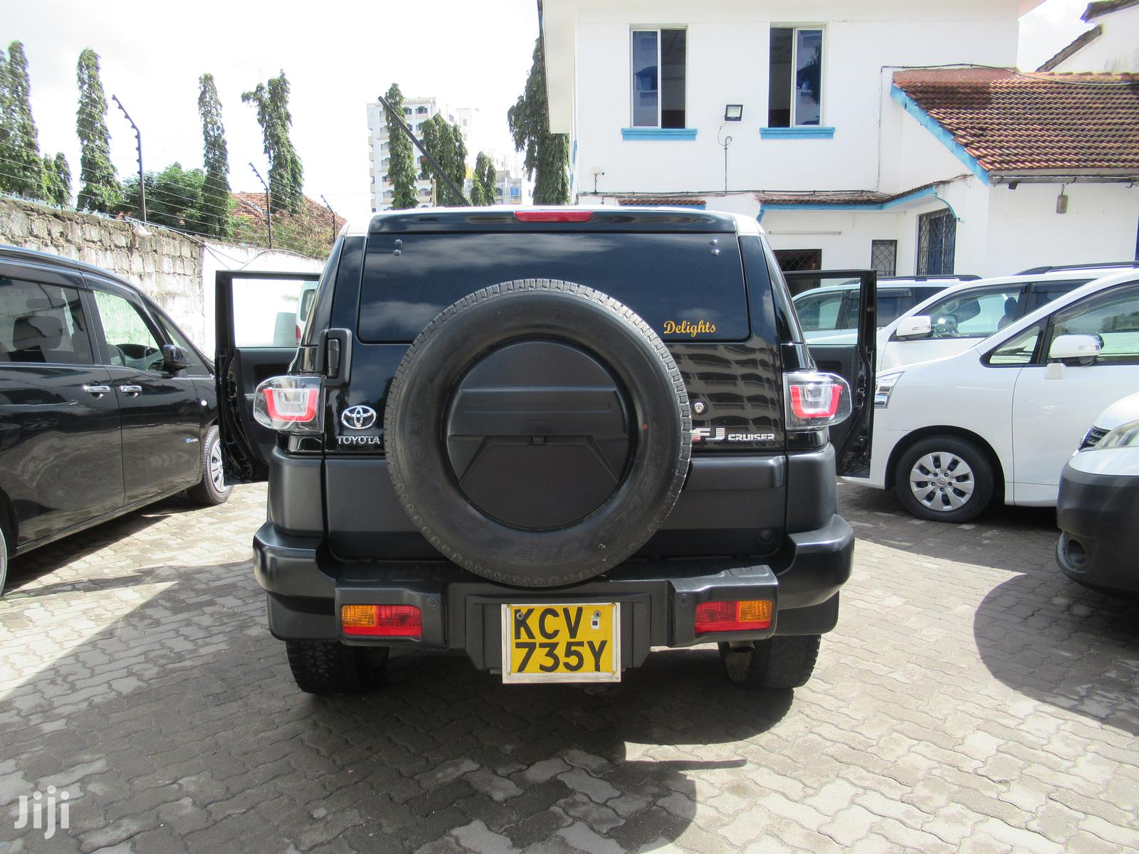 Toyota FJ Cruiser 2012 Black   Cars for sale in Tudor, Mombasa, Kenya