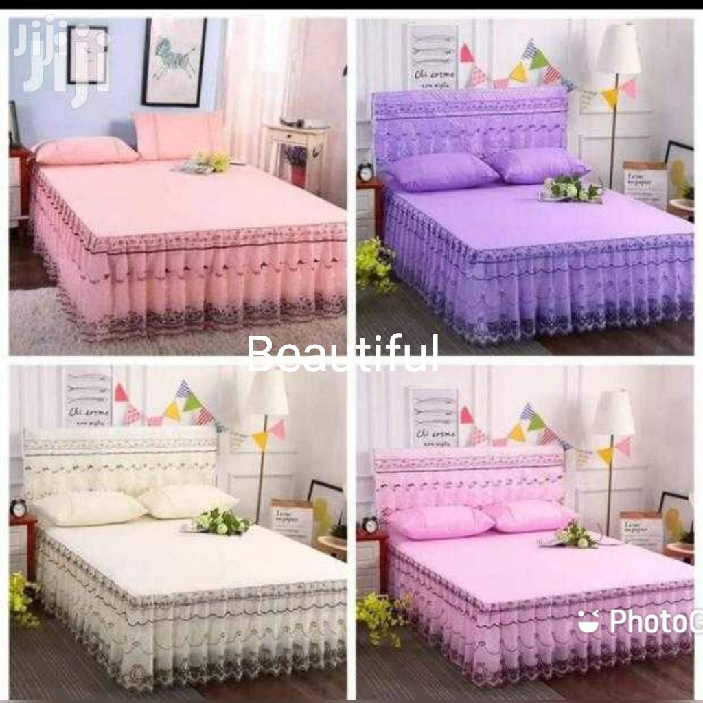Beautiful Bedskirt Very Good Quality