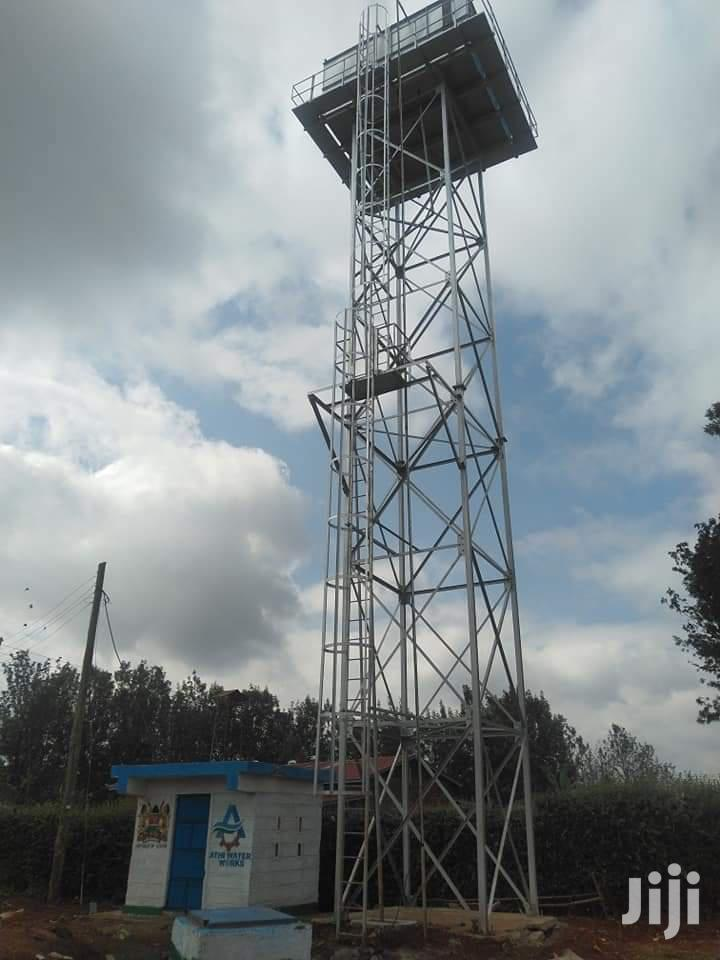 Archive: Water Tank Tower-high Mast