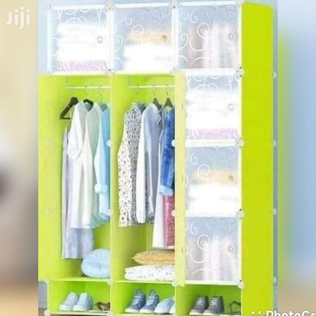 Modern Design Durable Plastic Wardrobe