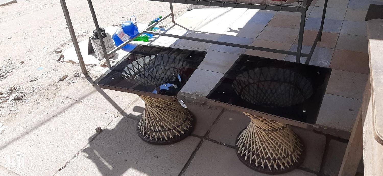 Glass Mini Square Tables   Furniture for sale in Nairobi Central, Nairobi, Kenya
