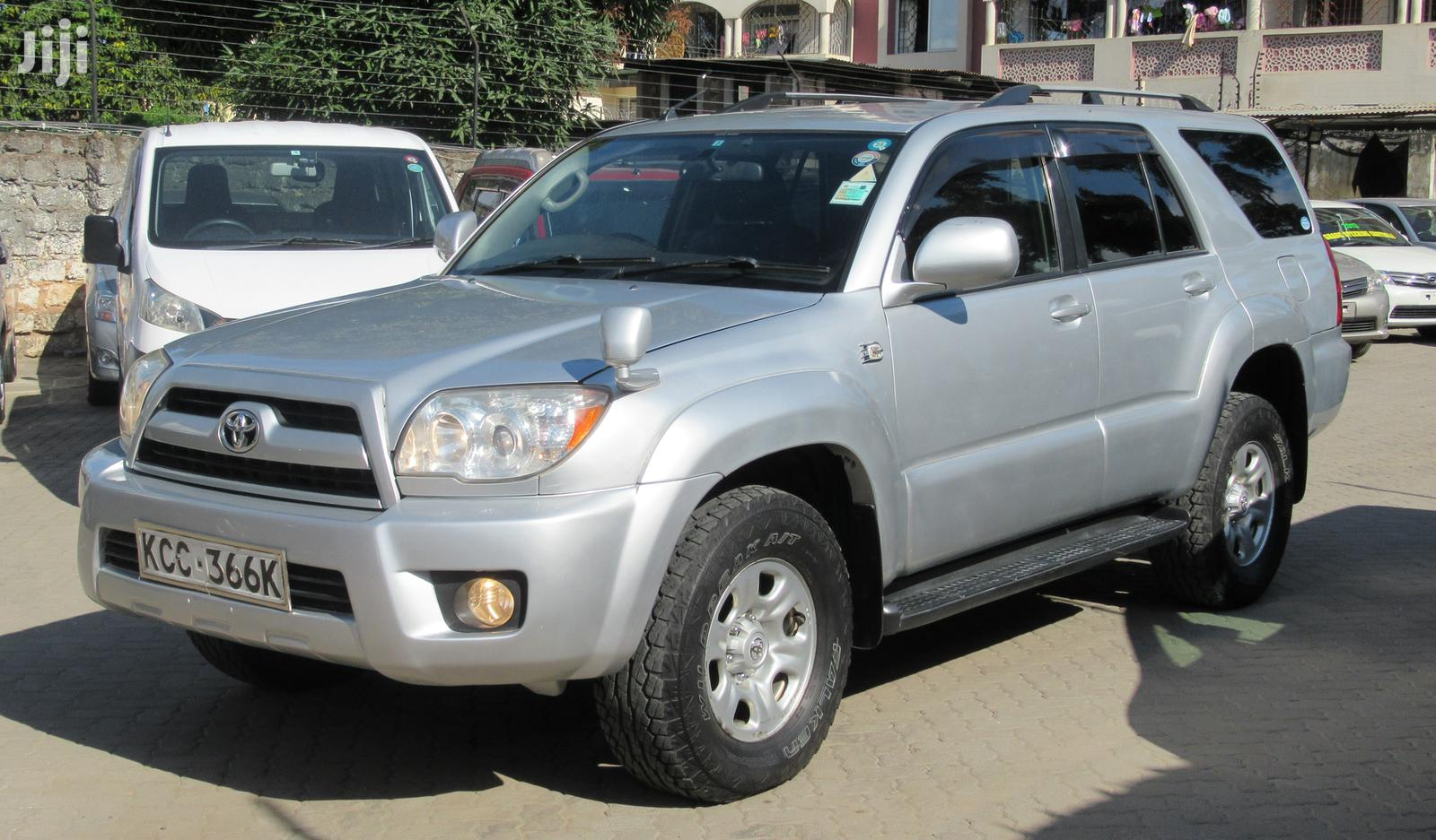 Toyota Surf 2008 Silver