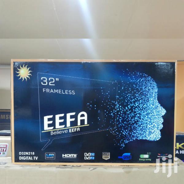 32 Inch FRAMELESS Digital Inbuilt Decoder LED EEFA TV