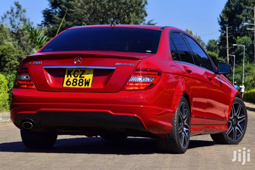 Mercedes-Benz C200 2013 Red | Cars for sale in Nairobi Central, Nairobi, Kenya