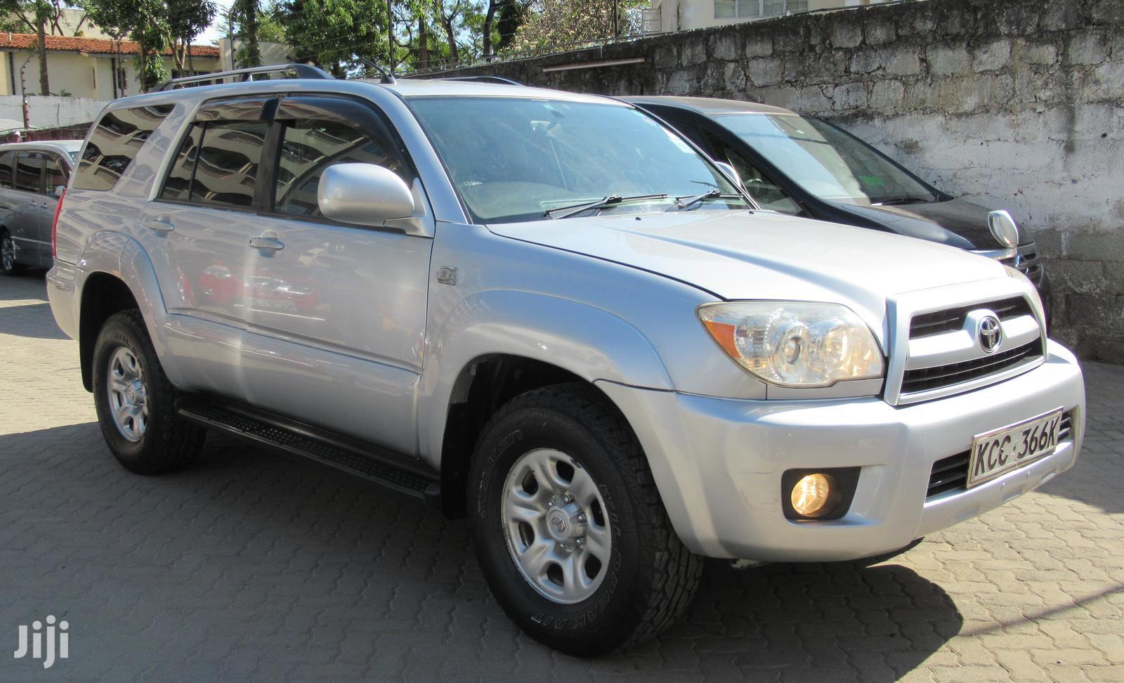 Toyota Surf 2008 Silver | Cars for sale in Tudor, Mombasa, Kenya