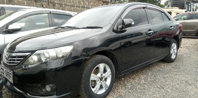Archive: Toyota Allion 2012 Black