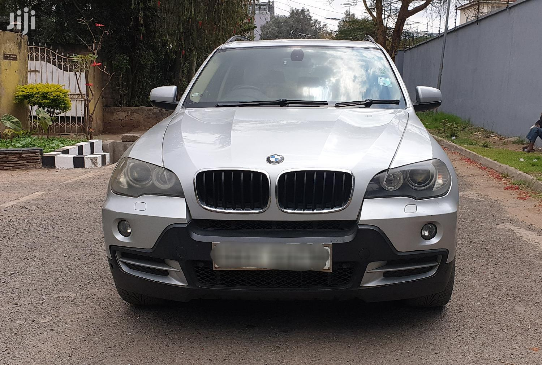 BMW X5 3.0D 2007 Silver