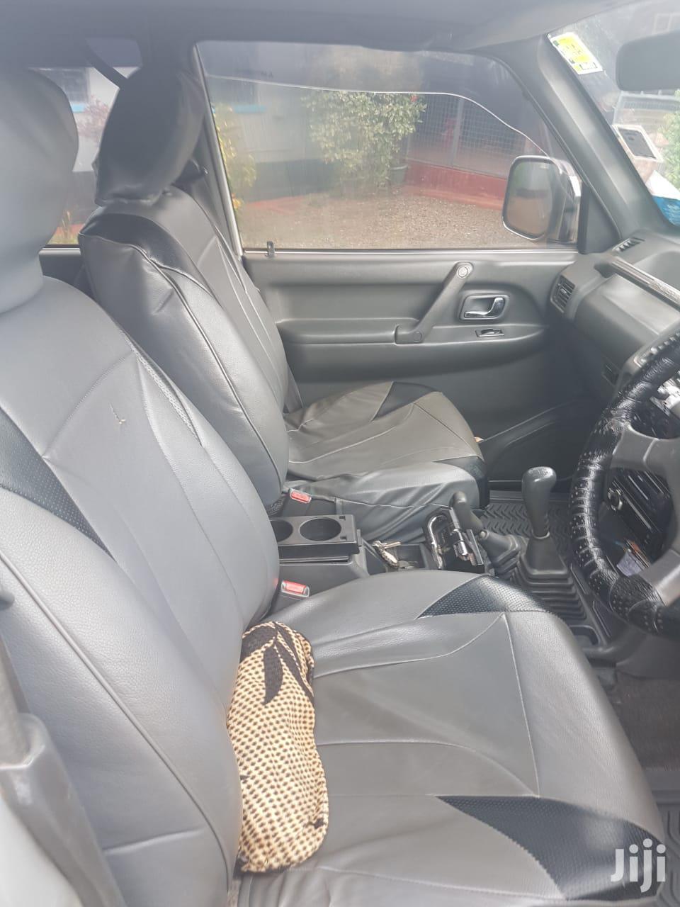 Archive: Mitsubishi Pajero 1997 Beige