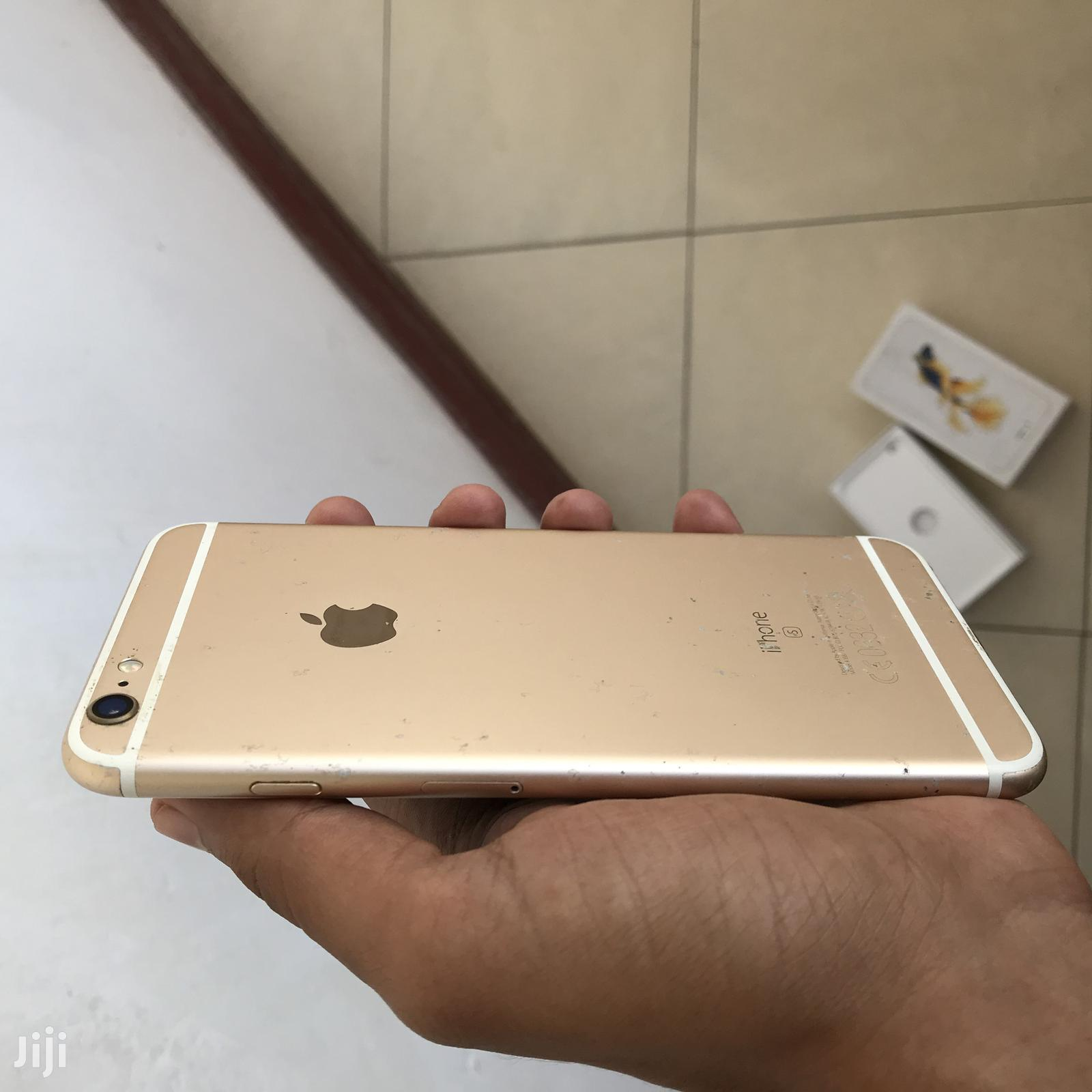 Archive: Apple iPhone 6s Plus 16 GB Gold
