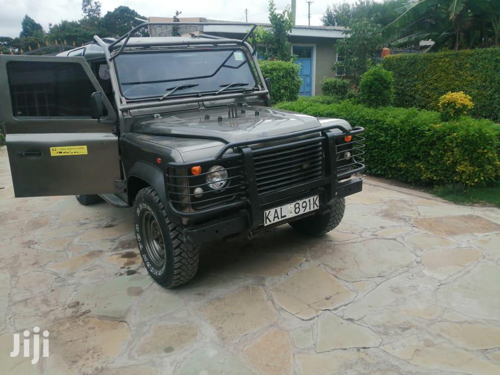 Archive: Land Rover Defender 1999 Gray