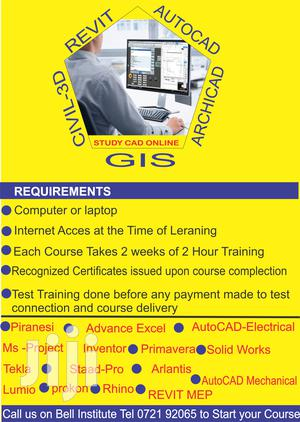 Online Autocad,Archicad,Civil 3d,Revit,Autocad Electrical   Classes & Courses for sale in Nairobi, Nairobi Central