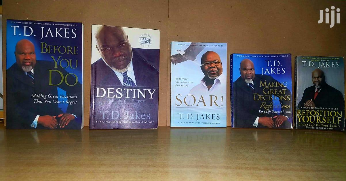 Bishop T D Jakes Books Are Available in Plenty.   Books & Games for sale in Nairobi Central, Nairobi, Kenya