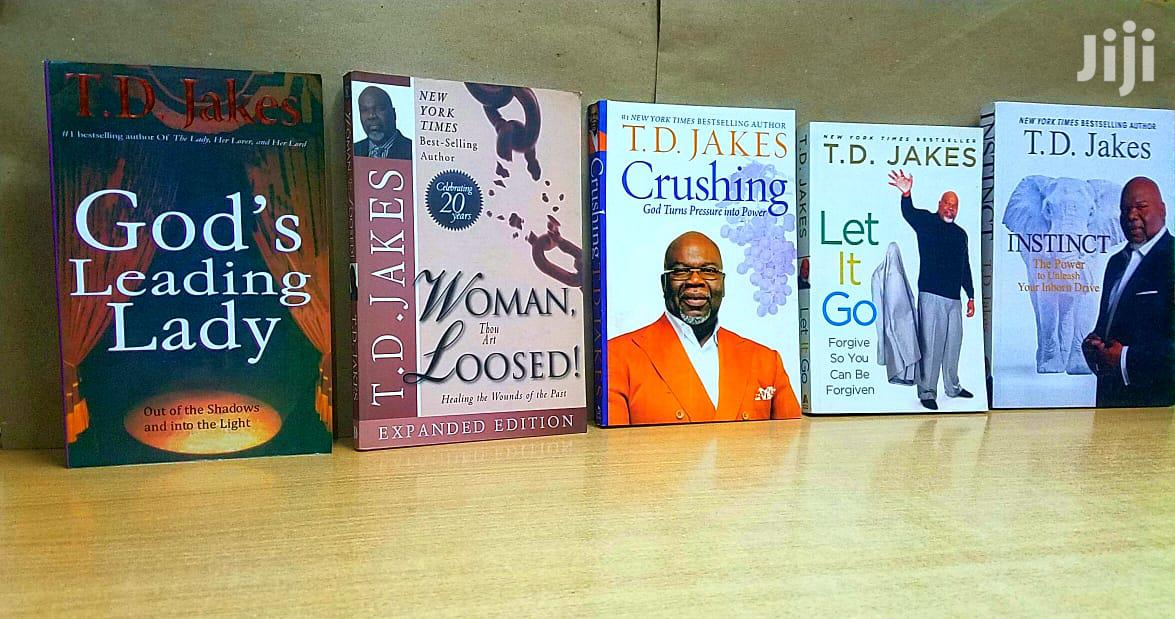 Bishop T D Jakes Books Are Available in Plenty.