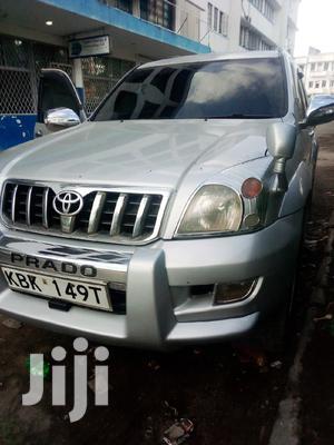 Toyota Land Cruiser Prado 2002 Silver | Cars for sale in Mombasa, Kisauni