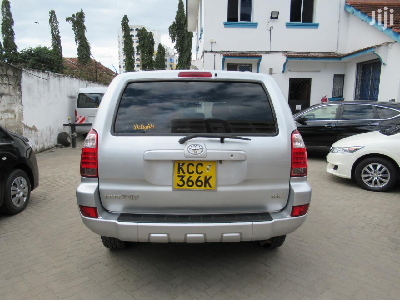 Toyota Surf 2007 Silver | Cars for sale in Kisauni, Mombasa, Kenya