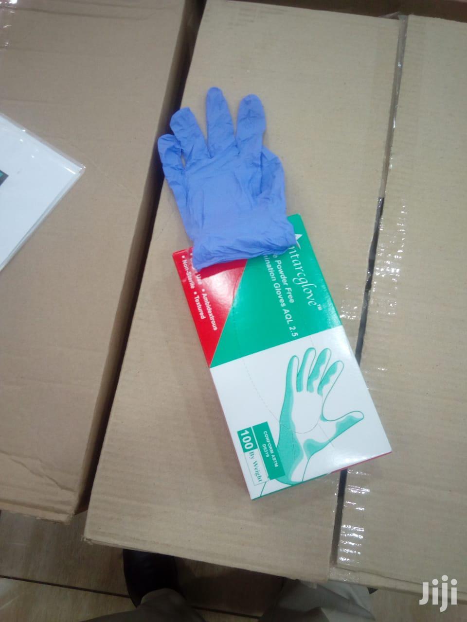 Nitrile Non Powdered Gloves