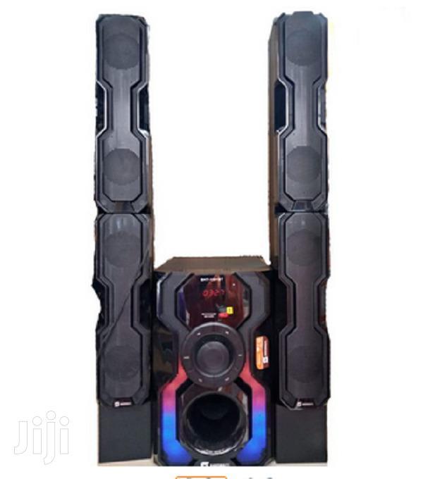 Sayona Sht-1291bt 2.1ch Subwoofer - High Tallboy Speakers
